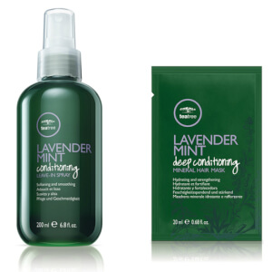Paul Mitchell Tea Tree Lavender Mint Calm & Quench Hair Treatment Kit