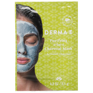 derma e Purifying 2-in-1 Charcoal Mask Single Use Mask (Free Gift)