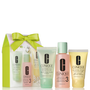 Clinique Great Skin 1-2-3 Set (Skin Type 3/4) (Worth £12.00)