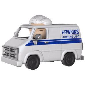 Stranger Things Brenner & Hawkins Utility Van Dorbz Ride Vinyl Figur