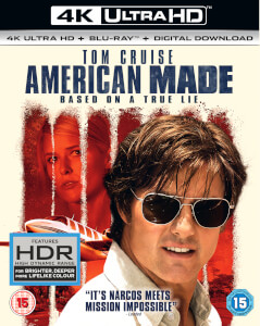 American Made (4KUHD + BluRay + digital download)