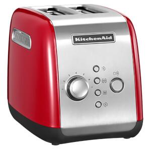 KitchenAid 5KMT221BER 2 Slot Toaster - Empire Red