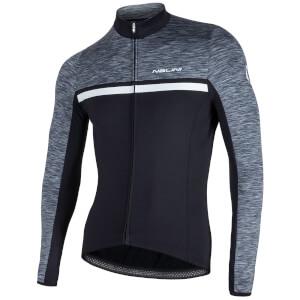 Nalini Dubhe Long Sleeve Thermo Knit Jersey - Black/Grey