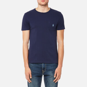 Polo Ralph Lauren Men's Crew Neck Pocket T-Shirt - Newport Navy