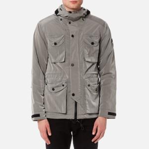 Marshall Artist Men's Liquid Nylon Snow Parka Jacket - Silver