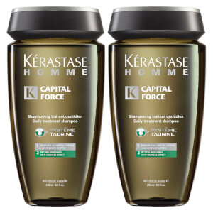 Kérastase Homme Bain Cap Force Anti-Oiliness (250ml) Duo