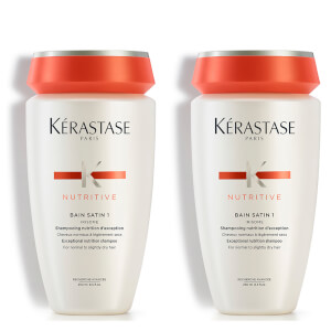 Kérastase Nutritive Bain Satin 1 250ml Duo: Image 1