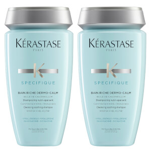 Shampooing Bain Riche Dermo-Calm Kérastase Specifique Duo 250 ml