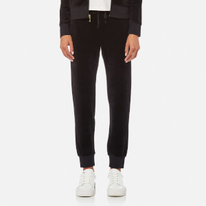 Juicy Couture Women's Track Velour Zuma Pants - Pitch Black