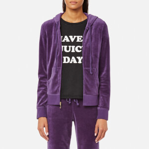 Juicy Couture Women's Track Velour Robertson Jacket - Extra Curricular