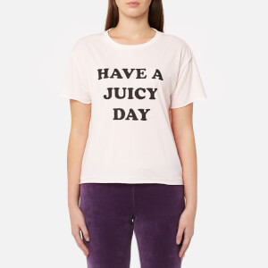 Juicy Couture Women's Juicy By Juicy Have A Juicy Day T-Shirt - Heavenly Pink