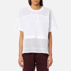 adidas by Stella McCartney Women's Essential Mesh T-Shirt - White