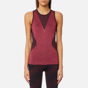adidas by Stella McCartney Women's Training Top - Dark Burgundy/Legend Red