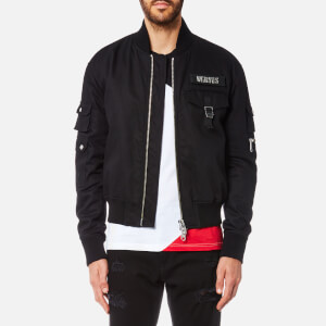 Versus Versace Men's Bomber Jacket - Black