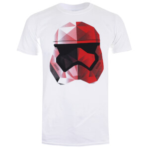 Star Wars Men's The Last Jedi Geo Trooper T-Shirt - White