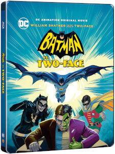 Batman Vs. Two-Face - Steelbook Exclusivo de Zavvi Edición Limitada -