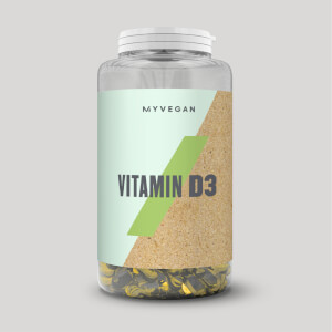 Vegan vitamine D3 Softgels