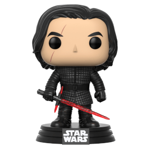 Star Wars The Last Jedi Kylo Ren Funko Pop! Figuur
