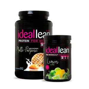 Multi-Purpose Protein + Lemon Lime Pre-Workout Stack