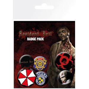 Resident Evil Mix Badge Pack