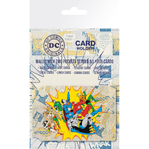 DC Comics Heroes and Villians Card Holder