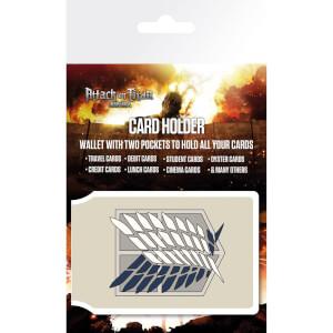 Attack on Titan Badge Card Holder