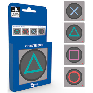 Sony PlayStation Buttons Coaster Pack