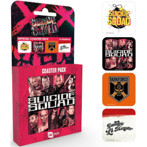 Suicide Squad Mix Coaster Pack