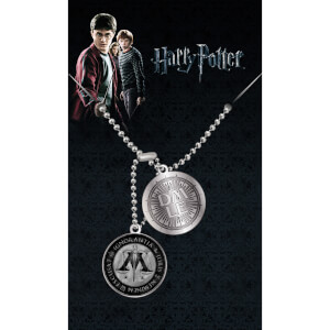 Harry Potter Ministry of Magic Dog Tag Pendant