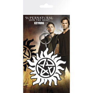 Supernatural Anti-Possession Symbol Keyring