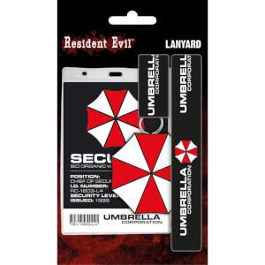 Resident Evil Umbrella Lanyard