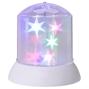 Global Gizmos LED Star Light Projector - Battery Operated (14 x 14cm)