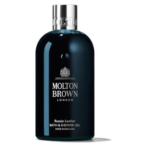 Molton Brown Russian Leather Bath & Shower Gel 300ml: Image 1