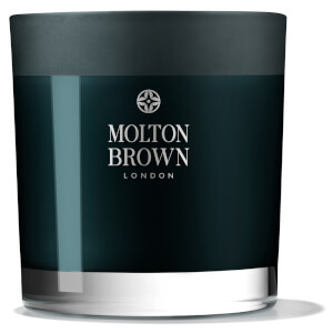 Molton Brown Russian Leather Three Wick Candle 480g