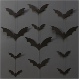 Ginger Ray Halloween Bat Backdrop - Trick or Treat