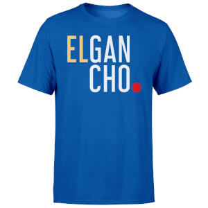 Elgancho Men's Blue T-Shirt