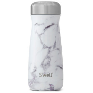 S'well The White Marble Traveller Bottle 470ml