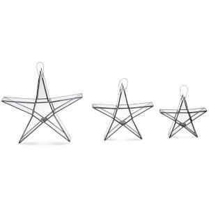 Nkuku Sanwi Standing Star - Silver - Small