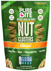 PureBite Nut Clusters - Almond 30g