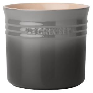 Le Creuset Stoneware Large Utensil Jar - Flint