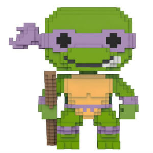 8-Bit Teenage Mutant Ninja Turtles Donatello Pop! Vinyl Figur