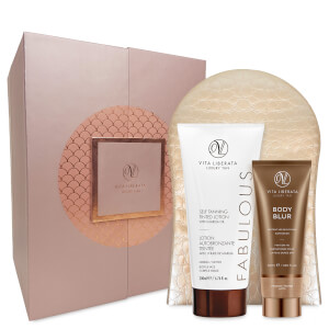 Vita Liberata Fabulously Flawless 3 Piece Luxury Tan Set-Dark Lotion 200ml