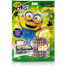 Minion Crayon book