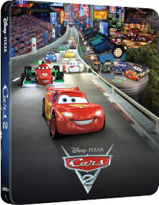 Cars 2 - Zavvi UK Exklusives Limited Edition Steelbook