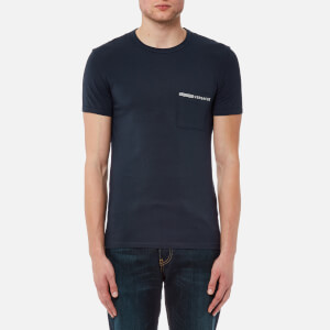 Versus Versace Men's Basic T-Shirt - Navy