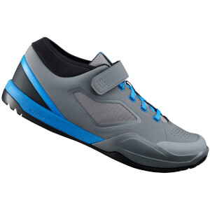 Shimano AM7 MTB Shoes - for SPD - Grey/Blue