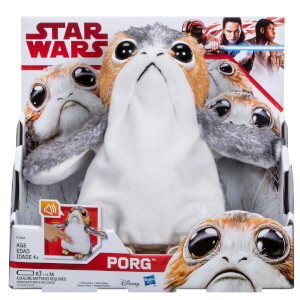 Hasbro Star Wars: Episode VIII The Last Jedi Interactive Plush Figure - Porg