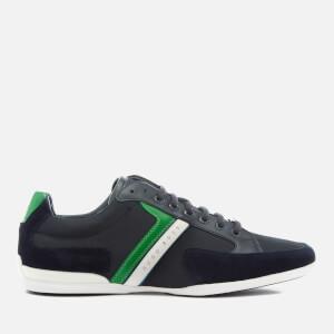 BOSS Green Men's Spacit Low Top Trainers - Dark Blue