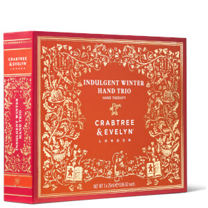 Crabtree & Evelyn Indulgent Winter Hand Trio - 3x25g