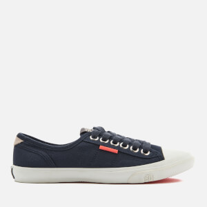 Superdry Women's Low Pro Trainers - Eclipse Navy/Navy Butterflies